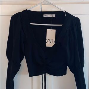 Zara crop top.